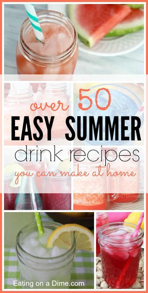 Easy Summer Drinks Recipes Kid The O 39 Jays And Summer