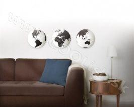Originální dárek Zrcadlo s motivy GLOBO set/3ks  http://www.coolish.sk/cz/darceky-umbra-dizajn/zrkadlo-s-motivmi-globo-set-3ks/