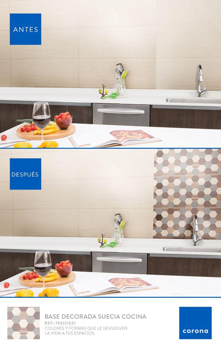Dale un nuevo aire a tu cocina y déjate inspirar por las formas geométricas.
