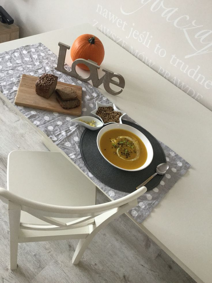 Dinner , zupa dyniowa