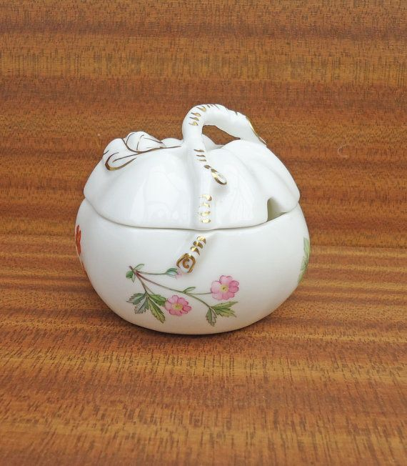 Minton Jam & Jelly Jar Sugar Bowl with Lid  by thesecretcupboard, £14.00
