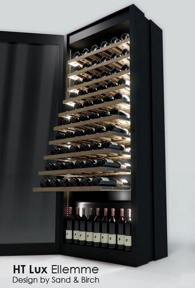 Mueble lujoso refrigerado para el vino