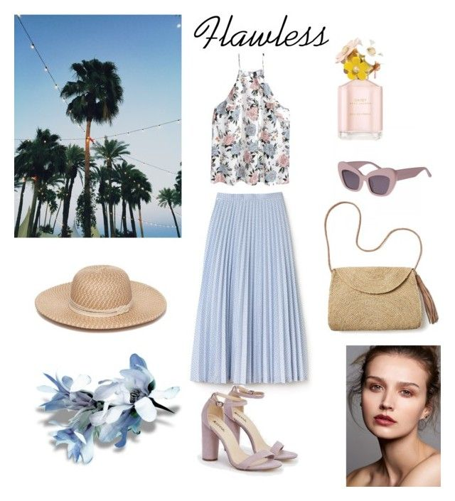 """Flawless"" by emina-la ❤ liked on Polyvore featuring Lacoste, H&M, JustFab, Mar y Sol, Collection XIIX and Marc Jacobs"