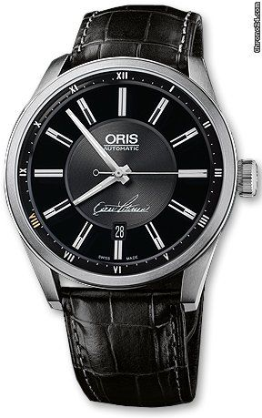 Oris Artix Oscar Peterson Limited Edition 73376424084LS $1,675 #Oris #watch #watches #luxury #style #chronograph steel case with automatic movement