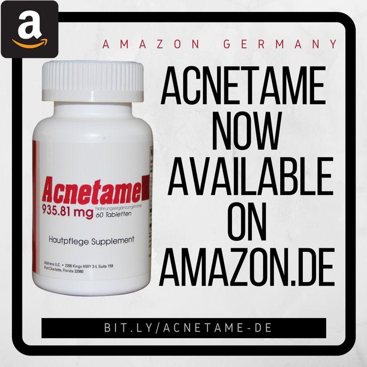 Acnetame 935.81 mg Nahrungsergänzungsmittel-Vitamine gegen Akne, 60 natürliche Tabletten: Amazon.de: Baumarkt