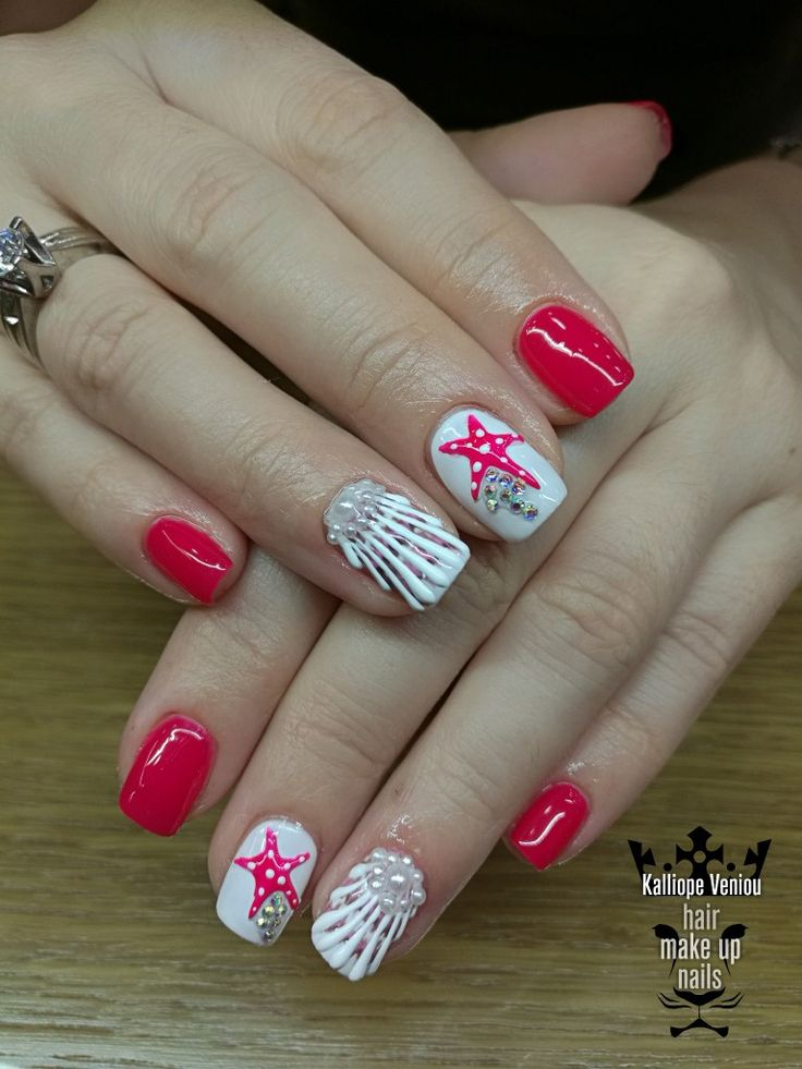 Summer nails  #nails #nailart #summerlove #shell #beauty #fashion #fashionista #special #style #fotooftheday #nailprodigy #nailaholic #nailsalon #nail2inspire #trusttheexperts #beautymakesyouhappy  www.kalliopeveniou. gr
