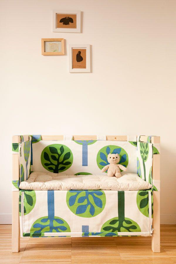 La culla di Madori è dedicata al co-sleeping, una pratica antica che che favorisce il contatto tra bimbi e genitori fin dai primi giorni di vita.