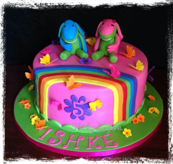 Lollos en Lettie cake by Sticky Fingers
