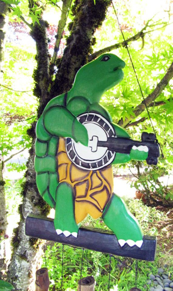 Grateful Dead Terrapin Turtle Wind Chime The O Jays