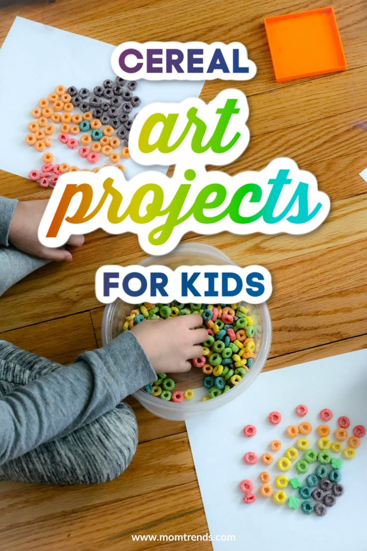 Fun Cereal Art Projects In 2020 Creative Activities For Kids