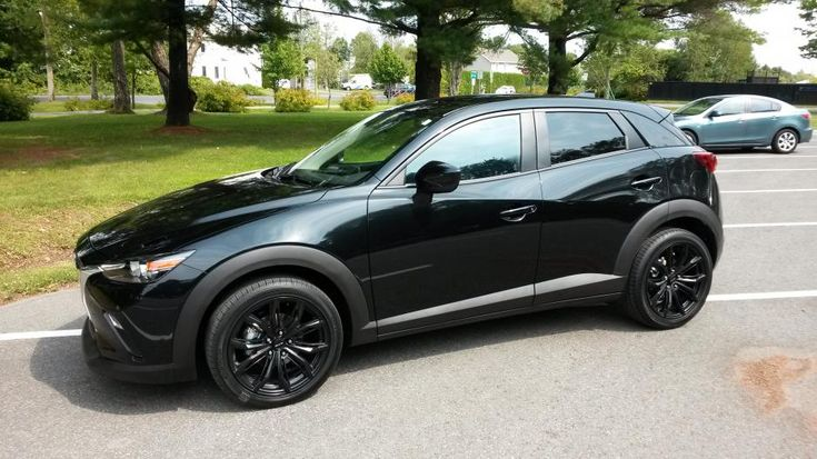 Mazda 3 Wheels >> mazda cx3 black | CX3 Mazda MaRc | Pinterest