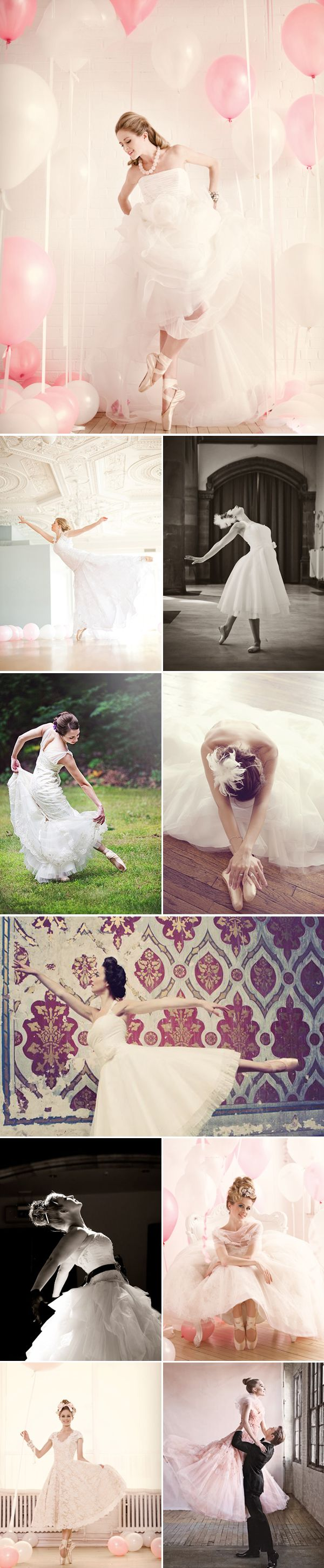 Praise Wedding » Wedding Inspiration and Planning » Sweet Ballerina Brides