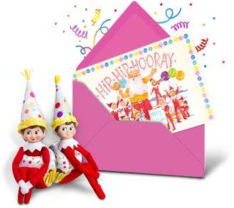 The Elf on the Shelf - I think someone is celebrating a birthday!!