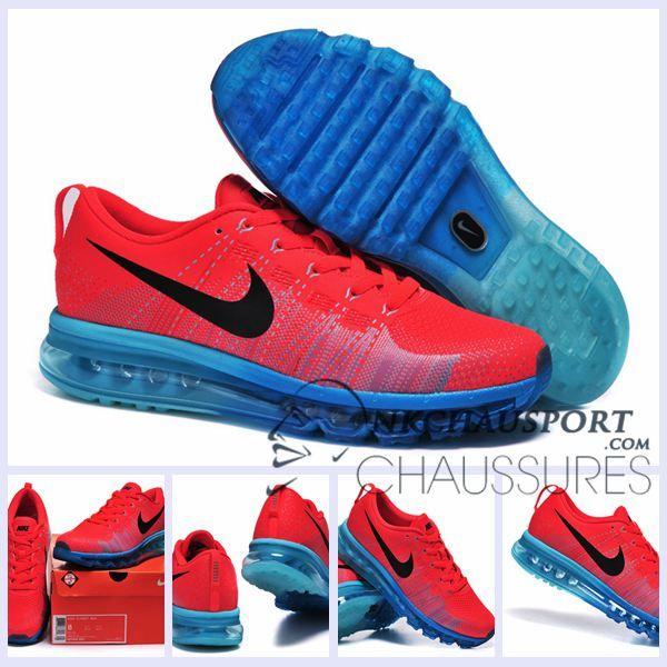 air max rouge bleu