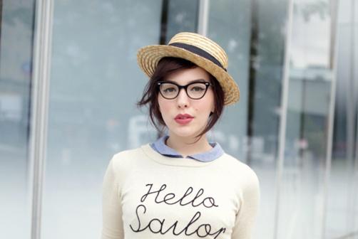 hello sailor sweater