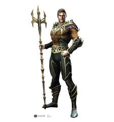 Aquaman Injustice Gods Among Us Cardboard Standup $44.99 (with Free U.S. Shipping)