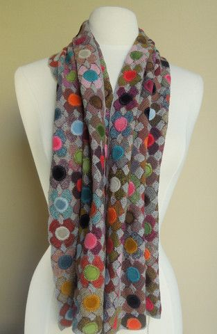 Ludivine crochet scarf by sophie digard on french needle