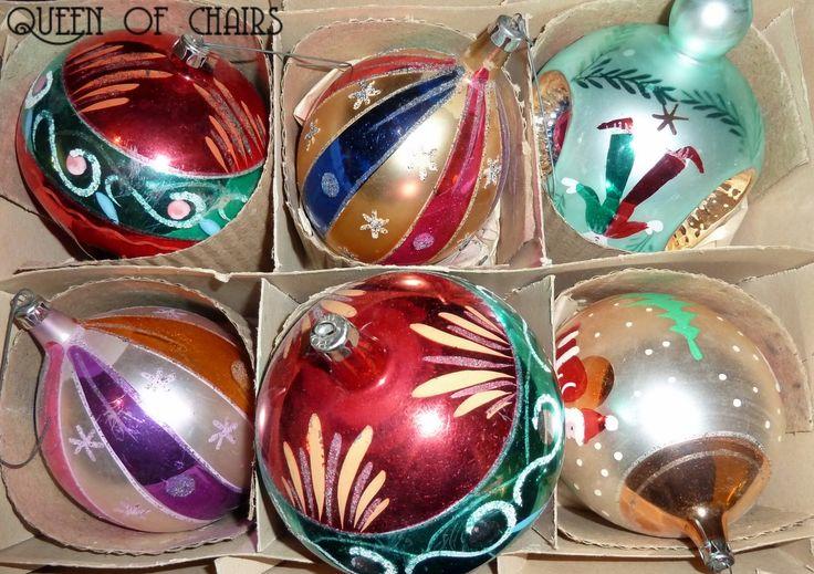 Polish Glass Christmas Ornaments