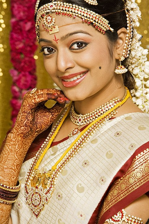 Traditional south indian Telugu bride