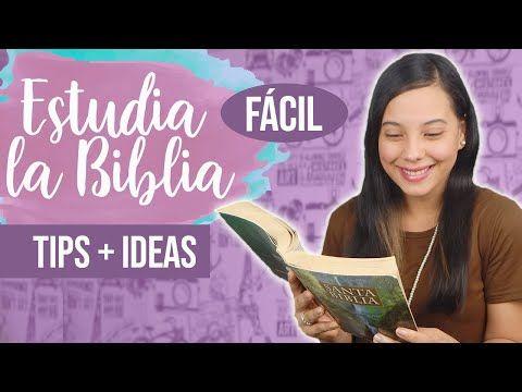 5 Formas FÁCILES de ESTUDIAR la BIBLIA | JustSarah – YouTube