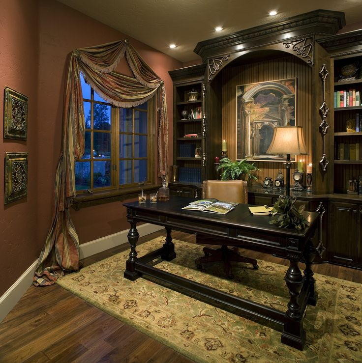 Office Den Decorating Ideas: 25+ Best Ideas About Victorian Window Treatments On