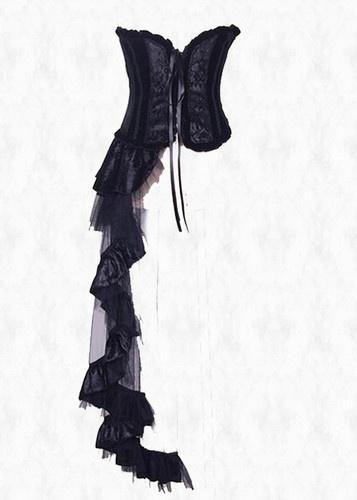 Asymmetrical Corset Style Burlesque Steampunk Gothic Dress Unique   eBay