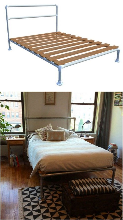Best 25 Pipe Bed Ideas On Pinterest Industrial Bed
