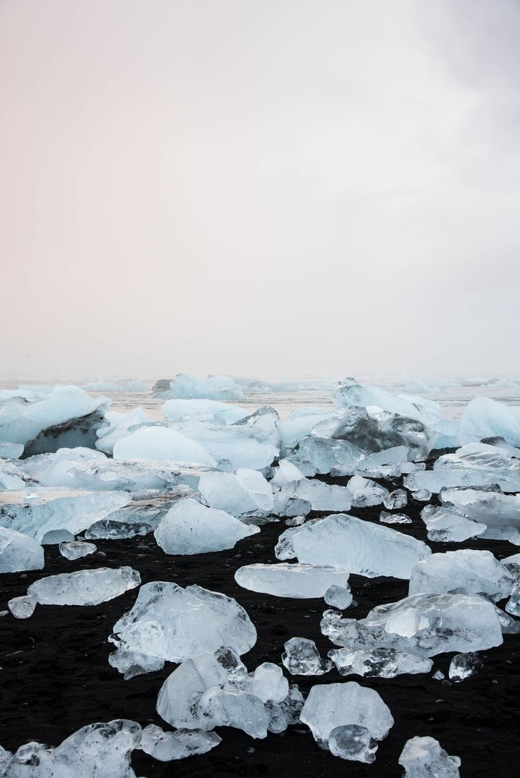 Escape to Iceland and visit Diamond Beach