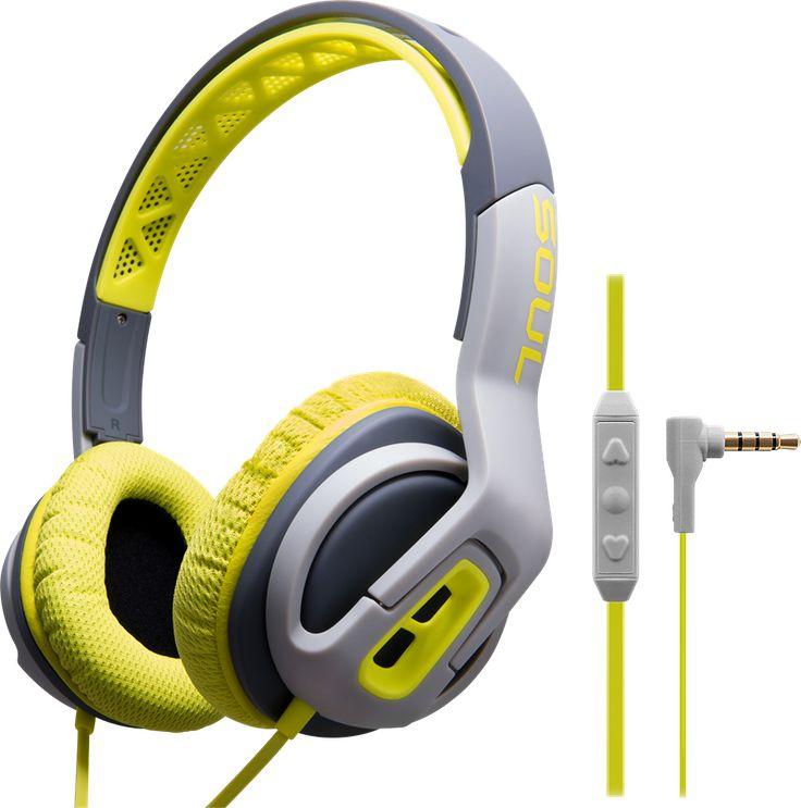 Soul Transform Lightning Green: Treenioptimoidut on ear -kuulokkeet - Teknikmagasinet.fi
