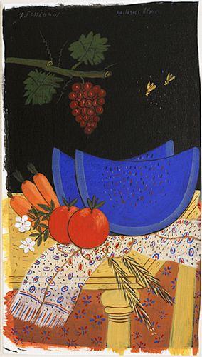 pastèques bleues
