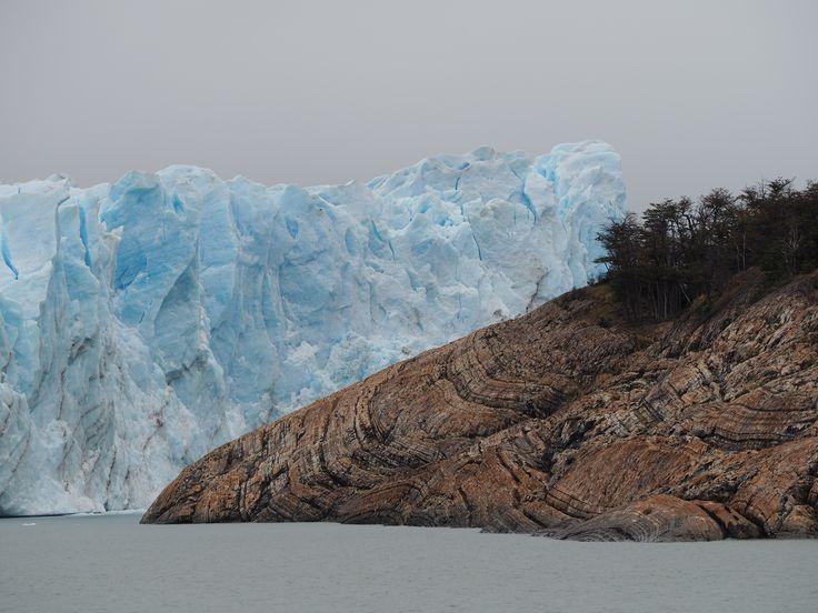 Contrasting landscapes, Perito Moreno Glacier