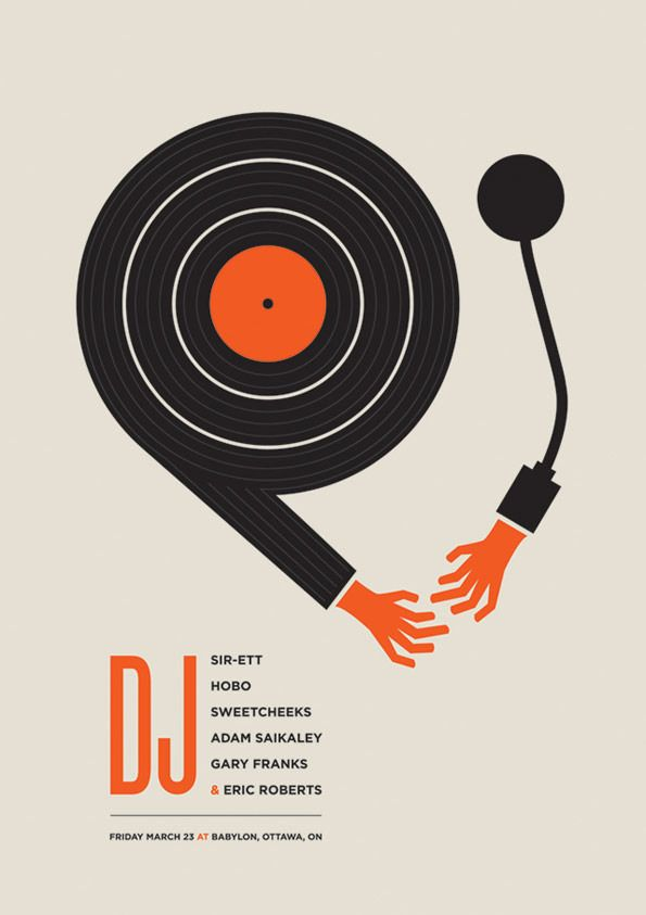 Ross Proulx spoils us with his beautiful gig poster designs