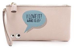 Anya Hindmarch Love It Wristlet http://www.wallsloveart.co.uk