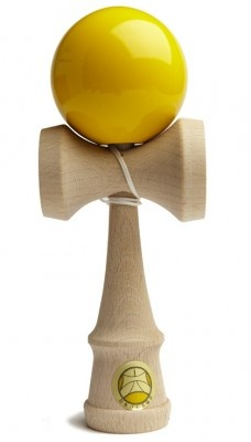 This was my kendama BEFORE I learned tricks hehe :p