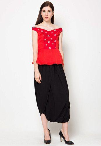 Saraswati Jumputan Top | Desainer pakaian, Model pakaian ...