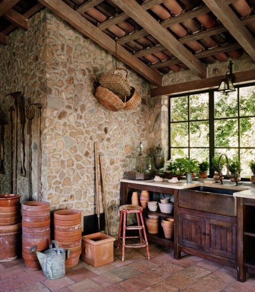Love This Potting Shed