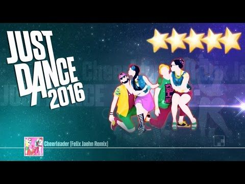 Cheerleader - Just Dance 2016 (Unlimited) - Gameplay 5 Stars KINECT ! - YouTube