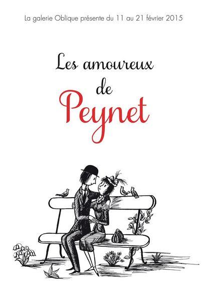 Les Amoureux de Peynet à la Galerie Oblique - http://www.ligneclaire.info/peynet-oblique-23366.html