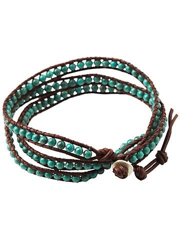 nice colorZia, Turquoise Stones, Bracelets, Triple, Hair Style, Nice Colors, Etsy Fav, Pioneer Spirit, Wraps Turquoise