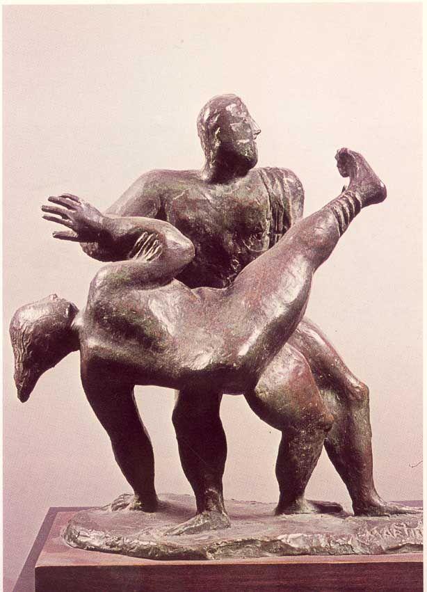Arturo Martini, Rape of the Sabine