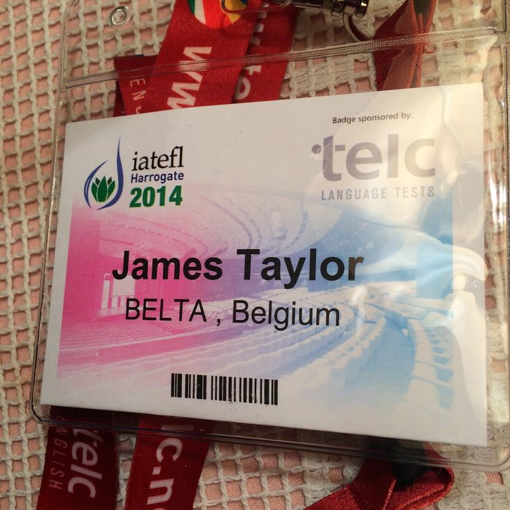 What I Learned From IATEFL 2014... - TheTeacherJames