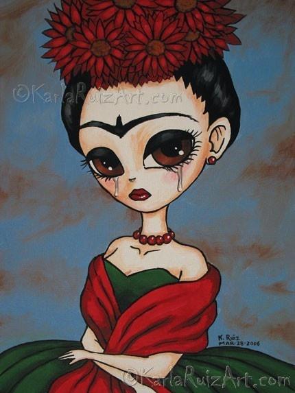Portrait of Frida, Karla Ruiz
