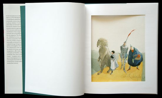 Lisbeth Zwerger/リスベート・ツヴェルガー【Wizard of Oz】オズの魔法使い/500部限定版/リトグラフ