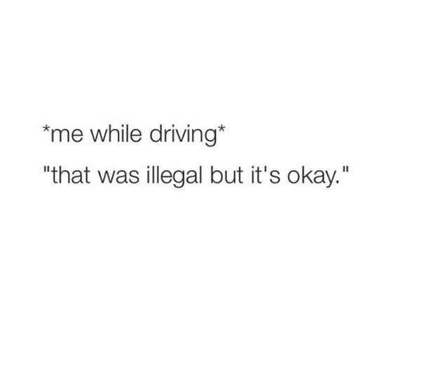 21 Things That Are Too Real For People That Hate Driving