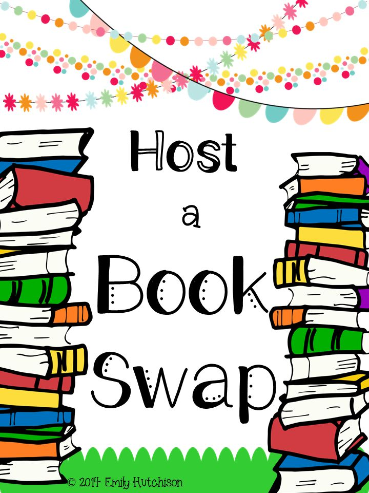 Host a book swap with your class or school.  How to get started!