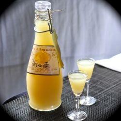 a deliciously strong, lemon-flavored Italian liqueur