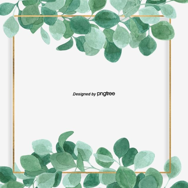 Border Png Vector Psd And Clipart With Transparent Background For Free Download Pngtree Flower Frame Leaf Clipart Floral Painting