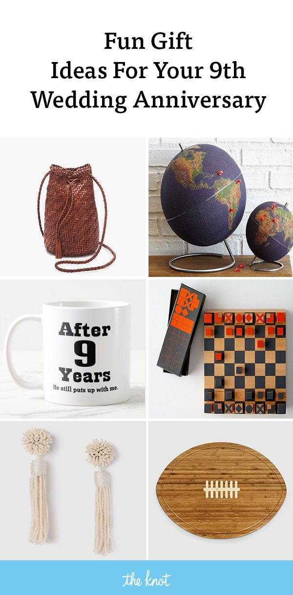 9 Year Anniversary Gift Ideas For Her Him And Them Year