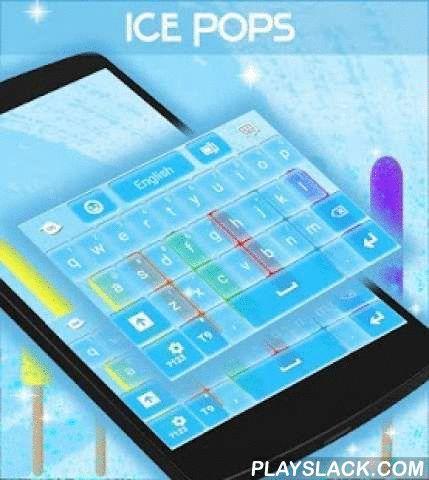 """Ice Pops Keyboard  Android App - playslack.com ,  Wie houdt niet van ijs knalt op een hete zomer , dus onze talentvolle ontwerpers team creëerde dit thema vooral voor ijs pop liefhebbers : ICE POPS TOETSENBORD ! DOWNLOAD Ice Pops Keyboard NU en je zult jezelf te koelen elke keer dat u chatten met je vrienden .- Om te installeren , volg gewoon deze 3 eenvoudige stappen : Openen na downloaden , drukt u op """"Instellen als Active Theme"""" en selecteer het thema van de volgende pagina !- De…"""
