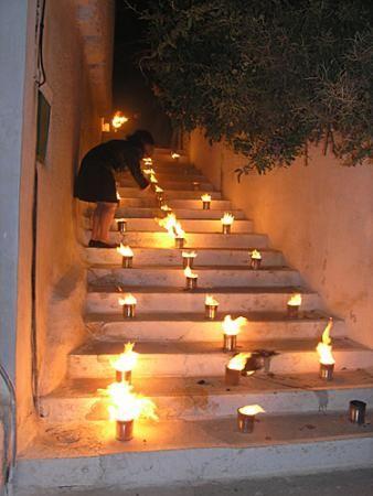 Easter celebration in Amorgos, Greece